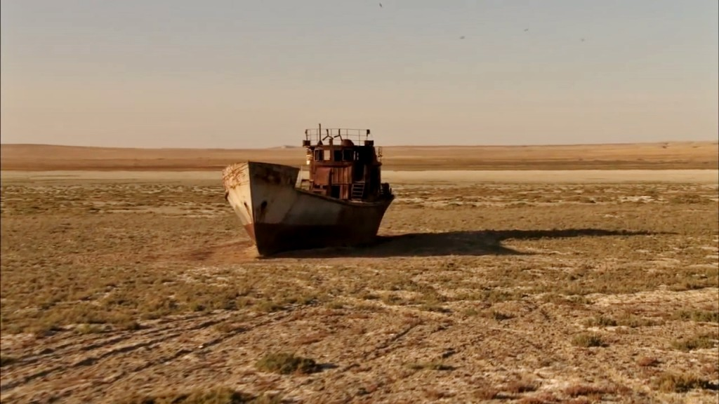 nave nel deserto
