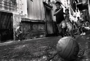 Quartieri spagnoli, foto di Fulvia Menghi