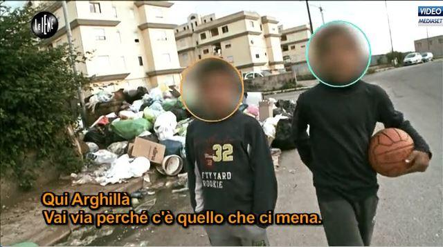 L'inizio del servizio su Arghillàdi Reggio Calabria de LE IENE