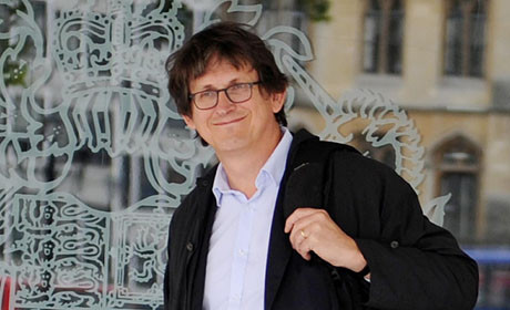 Alan Rusbridger direttore del giornale The Guardian