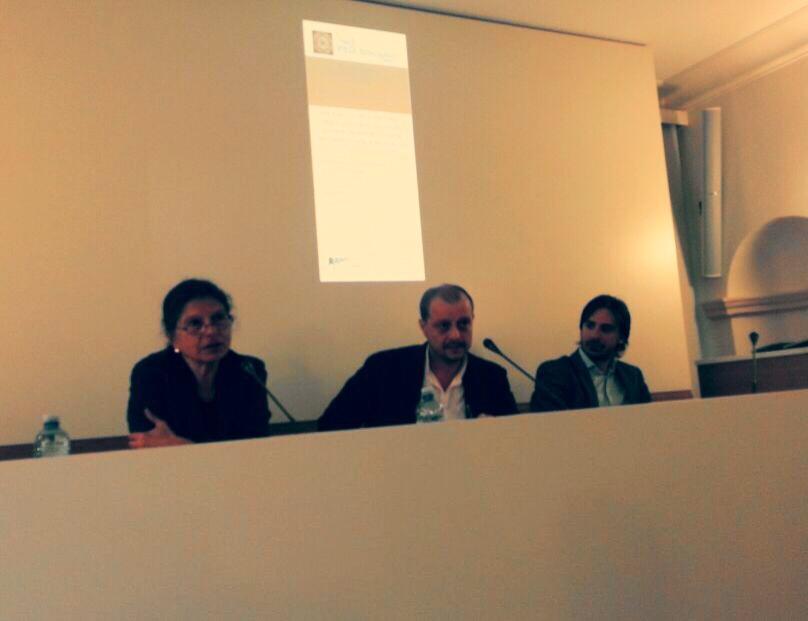 Da sinistra: Loredana Sciolla, Ercole Giap Parini e Massimo Cerulo