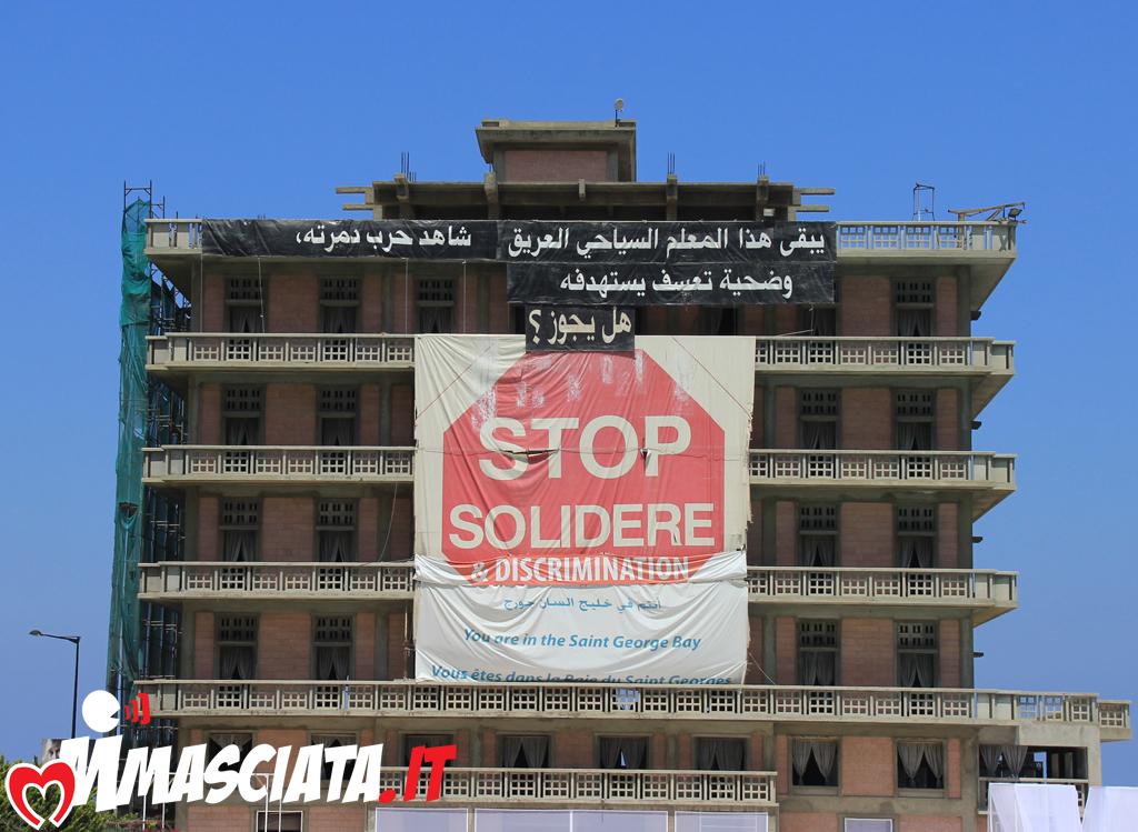 L'albergo St. Georges, simbolo di resistenza al progetto di ricostruzione Solidaire