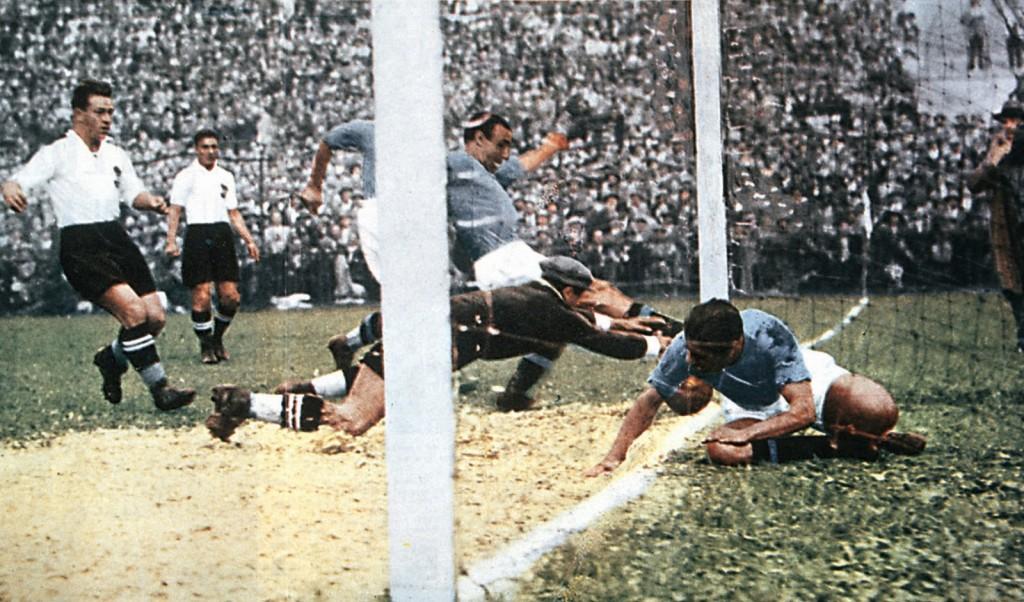 Il goal di Enrico Guaita contro l'Austria nel Mondiale '34