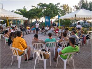 La presentazione di The devotion Project - ph. Diego Mazzei