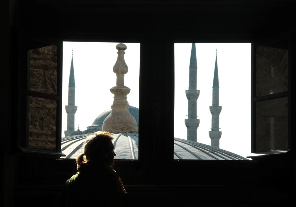 I minareti della Moschea Blu di Istanbul