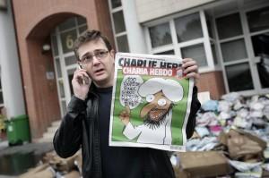 Stèphane Charbonnier, direttore di Charlie Hebdo