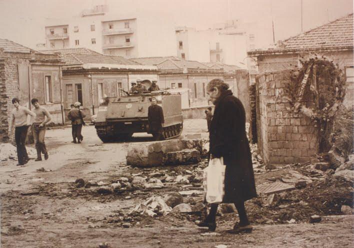 Reggio Calabria durante la rivolta