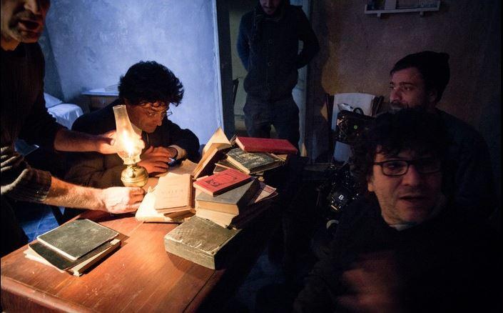 """Sul set del film """"Gramsci 44"""""""