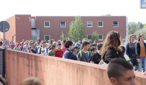 Edizione 2014: I bambini delle scuole visitano gli stand lungo il Ponte Bucci