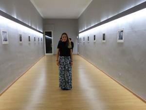 Nicoletta Grasso nella galleria Crac