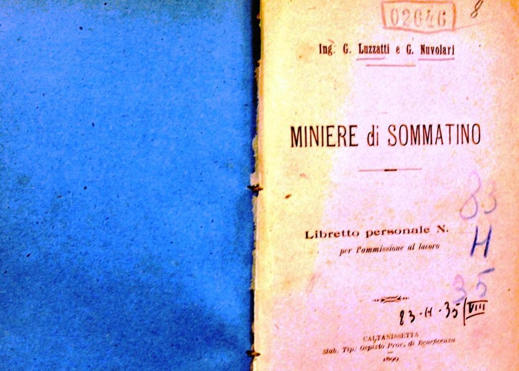Libretto personale del minator