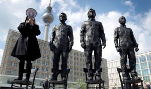 Anithing to say? La scultura di Davide Dormino che ha tenuto banco durante la kermesse perugina
