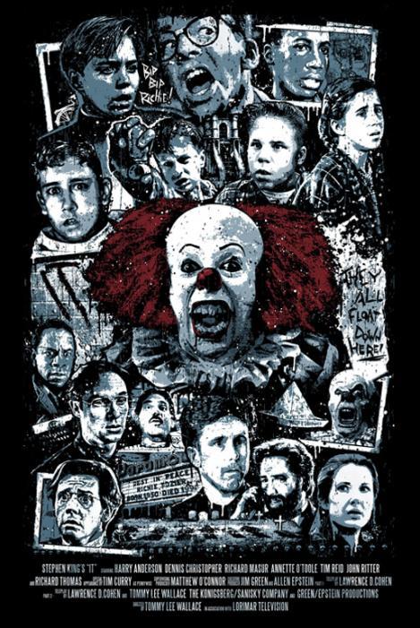 """La locandina di """"It"""", capolavoro dell'horror"""