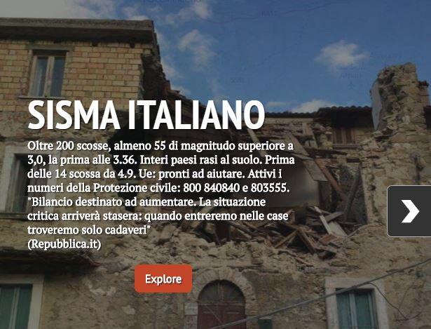 sisma italiano cover