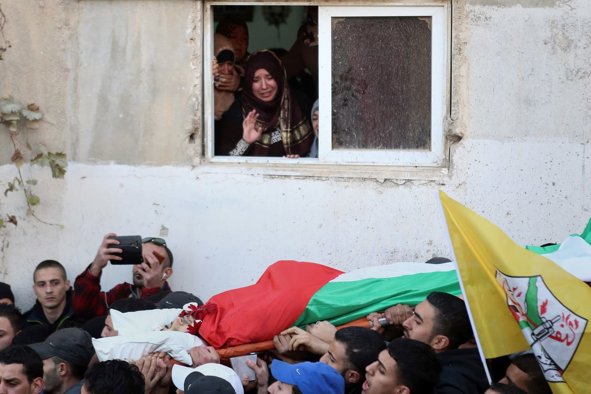 palestinian-funeral
