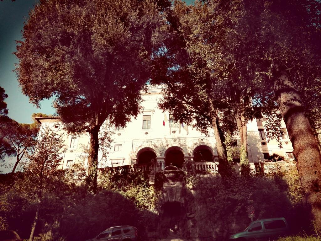 Villa Lubin, sede del Cnel.