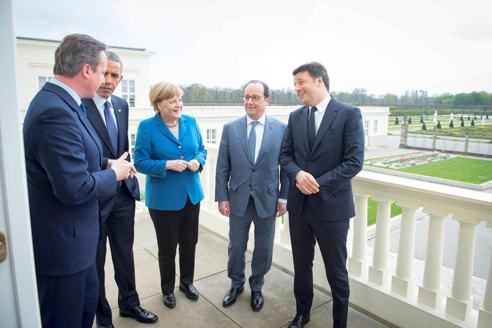 Solo 5 mesi fa, in sella è rimasta solo frau Merkel