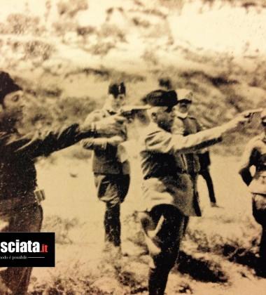 fasci cosentini al tiro con la rivoltella
