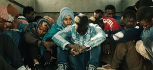 lordine delle cose - l'attrice Yusra Warsama tra i migranti