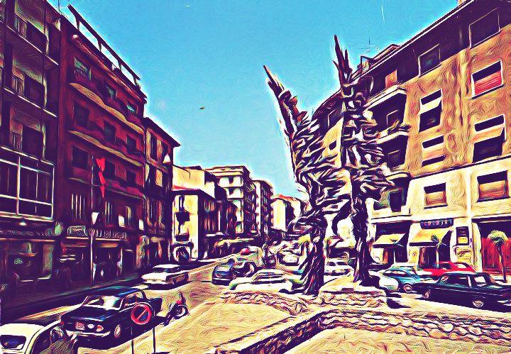 cosenza - piazza kennedy cart