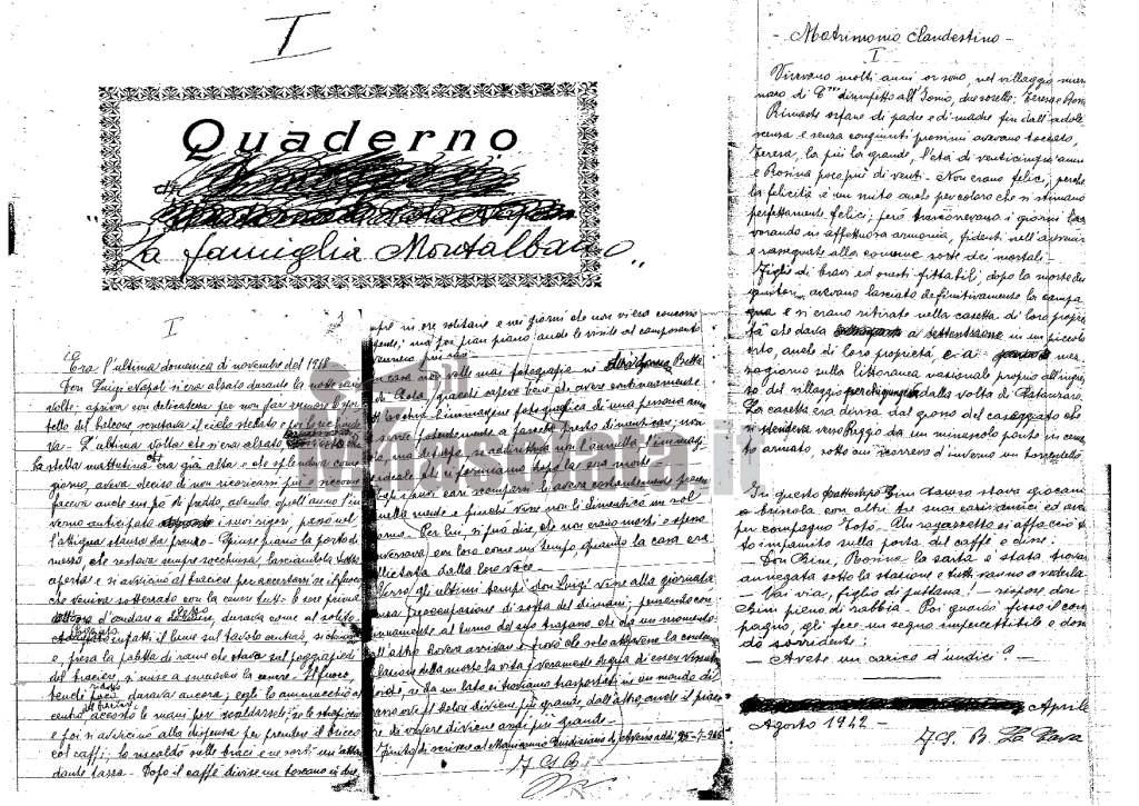 manoscritti ndr