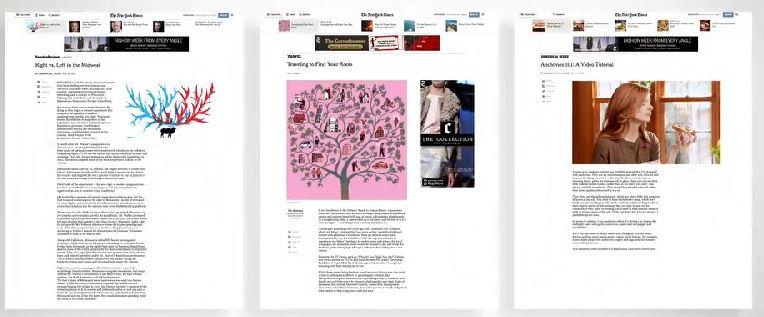 the new ny times pagine